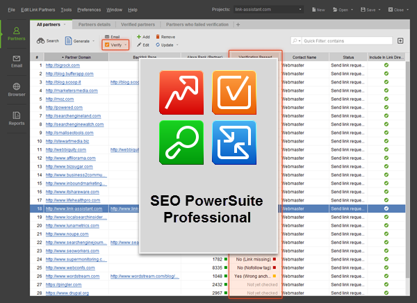 SEO PowerSuite Professional